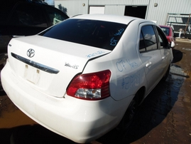 2007 TOYOTA YARIS WHITE 1.5L AT Z17688