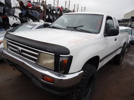 1995 TOYOTA T100 DX WHITE XTRA CAB 3.4L AT 4WD Z18031