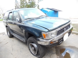 1995 TOYOTA 4RUNNER SR5 GREEN 3.0L AT 2WD Z17698