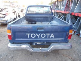 1989 TOYOTA PICK UP STANDARD CAB BLUE 2.4 AT 2WD Z19804