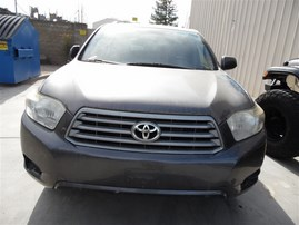 2008 TOYOTA HIGHLANDER STD GRAY 3.5 AT 2WD Z19807