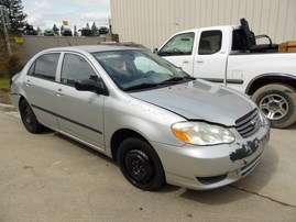2004 TOYOTA COROLLA CE 4DR SILVER 1.8 AT Z19571