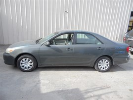 2002 TOYOTA CAMRY LE GRAY 2.4 AT Z19808