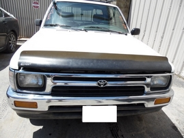 1992 TOYOTA TRUCK DLX XTRA CAB WHITE 2.4L AT 2WD Z17714