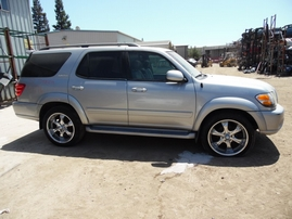 2002 TOYOTA SEQUOIA LIMITED SILVER 4.7L AT 2WD Z17716