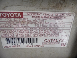 2002 TOYOTA HIGHLANDER WHITE 3.0L AT 4WD Z17718