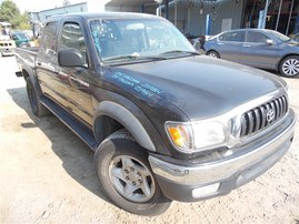 2004 TOYOTA TACOMA SR5 DOUBLE CAB BLACK PRERUNNER 3.4 AT OFF ROAD PAKG