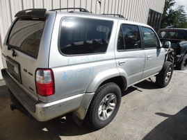 2001 TOYOTA 4RUNNER SR5 SILVER 3.4L AT 4WD Z17724