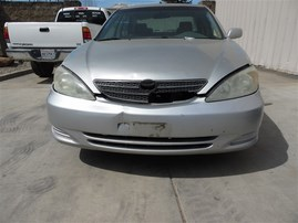 2004 TOYOTA CAMRY LE SILVER 2.4 AT Z20019