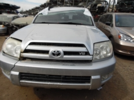 2004 TOYOTA 4RUNNER SR5 SILVER 4.7L AT 4WD Z17740