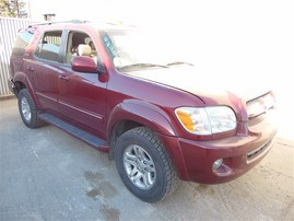 2006 TOYOTA SEQUOIA LIMITED SALSA RED PEARL 4.7 AT 4WD Z20239