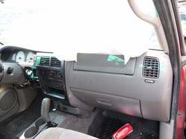 2001 TOYOTA TACOMA PRERUNNER BURGUNDY DOUBLE CAB 3.4L AT 2WD Z18260