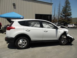 2015 TOYOTA RAV4 WHITE 2.4L AT 4WD Z18262