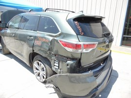2015 TOYOTA HIGHLANDER LE GREEN 3.5L AT 4WD Z18263
