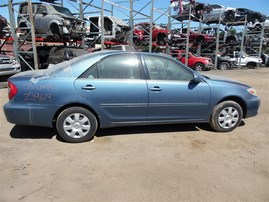 2003 TOYOTA CAMRY LE BLUE 2.4 AT Z19613