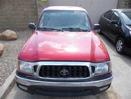 2003 TOYOTA TACOMA SR5 EXTRA CAB RED 2.4 AT 2WD Z20043