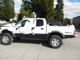 2003 TOYOTA TACOMA SR5 WHITE DOUBLE 3.4L AT 4WD Z17762