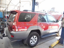 2003 TOYOTA 4RUNNER SR5 BURGUNDY 4.0L AT 4WD Z17769