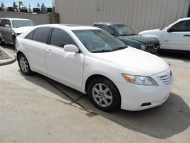 2007 TOYOTA CAMRY LE WHITE 2.4 AT Z20054