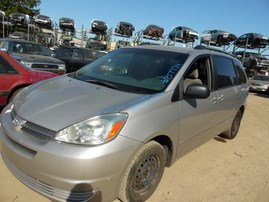 2004 TOYOTA SIENNA XLE SILVER 3.3L AT 2WD Z17774