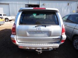 2003 TOYOTA 4RUNNER LIMITED SILVER 4.0 AT 4WD Z20264