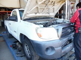 2005 TOYOTA TACOMA BASE WHITE STD CAB 2.7L AT 2WD Z17793