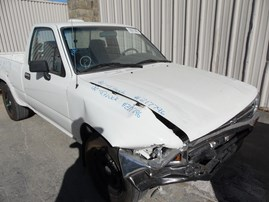 1994 TOYOTA TRUCK BASE STD CAB WHITE 2.4L AT 2WD Z17796