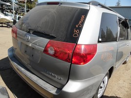 2008 TOYOTA SIENNA LE  SILVER 3.5L AT Z18318