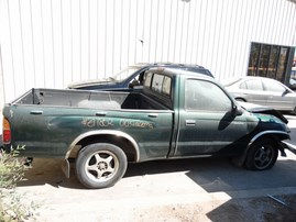 2000 TOYOTA TACOMA BASE GREEN STD CAB 2.4L AT 2WD Z17802