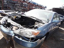 2002 TOYOTA CAMRY LIGHT BLUE LE 3.0L AT Z18317