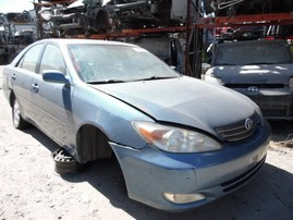 2003 TOYOTA CAMRY XLE LIGHT BLUE 3.0L AT Z18325