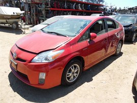 2010 TOYOTA PRIUS RED 4DR 1.8 AT Z19649