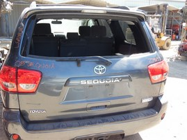 2008 TOYOTA SEQUOIA SR5 GRAY 5.7 AT 4WD Z19657