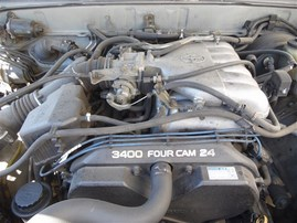 2000 TOYOTA 4RUNNER LIMITED SILVER 3.4 AT 2WD Z20087