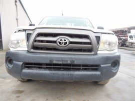 2009 TOYOTA TACOMA STD CAB WHITE 2.7 AT 2WD Z19886