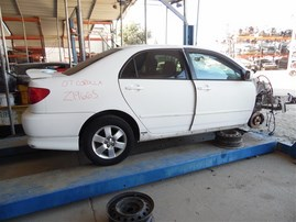 2007 TOYOTA COROLLA S WHITE 1.8 AT Z19665