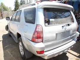 2004 TOYOTA 4RUNNER SR5 SILVER 4.0L AT 4WD Z17849