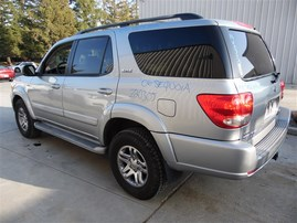 2006 TOYOTA SEQUOIA SR5 SILVER 4.7 AT 4WD Z20305
