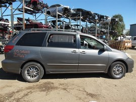 2005 TOYOTA SIENNA XLE GRAY 3.3 AT Z19667