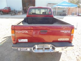 2000 TOYOTA TACOMA SR5 EXTRA CAB RED 3.4 MT 2WD Z19670