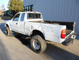 1998 TOYOTA TACOMA SR5 XTRA CAB WHITE 3.4 MT 4WD TRD OFF ROAD PACKAGE Z20314