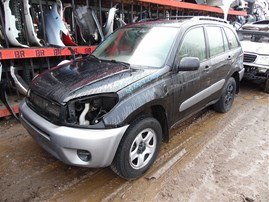 2005 TOYOTA RAV-4 BASE BLACK 2.4 AT 4WD Z20310