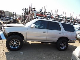 2000 TOYOTA 4RUNNER SR5 SILVER 3.4L AT 2WD Z17859