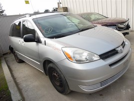 2005 TOYOTA SIENNA CE SILVER 3.3 AT 2WD Z20902
