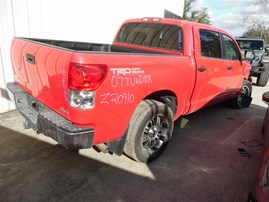 2007 TOYOTA TUNDRA SR5 CREW CAB RED 5.7 AT 4WD TRD OFF ROAD PKG Z20910