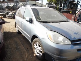 2004 TOYOTA SIENNA XLE GRAY 3.3L AT 4WD Z18392