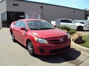 2011 TOYOTA COROLLA 4 DOOR SEDAN LE MODEL 1.8L AT FWD COLOR RED Z14665
