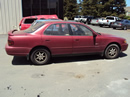 1995 TOYOTA CAMRY 4 DOOR SEDAN LE MODEL 2.2L AT FWD COLOR RED STK Z13436