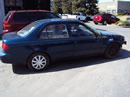 1998 TOYOTA COROLLA 4 DOOR SEDAN CE MODEL 1.8L AT WITH OVERDRIVE COLOR BLUE Z14691