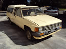 1987 TOYOTA PICK UP TRUCK XTRA CAB DLX MODEL 2.4L CARBURETOR MT 5 SPEED COLOR TAN Z14704